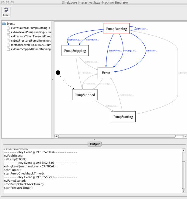 Sump controller simulation